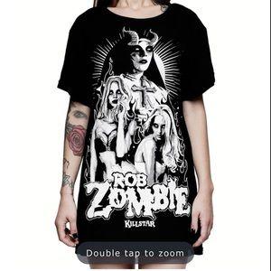 Rob Zombie Living Dead Girl BF Top Killstar